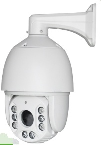 960p 10X Optical Zoom Lens IP High Speed Dome Camera