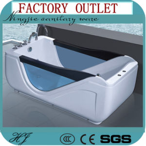 Factory Outlet Acrylic Massage Bathtub with The Jacuzzi (520A) pictures & photos