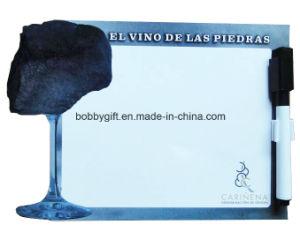 Custom Writing Board Fridge Magnet Souvenir with Erasable Pen pictures & photos