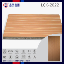 Zh Brand Cheap MDF Board, Raw MDF Sheet Price, PVC Coating MDF (LCK2022) pictures & photos