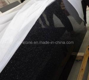 Black Galaxy Granite for Countertop/Vanitytop/Benchtop/Flooring Tiles pictures & photos
