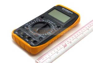 Dt9205A LCD Digital Voltmeter Ammeter Ohm Test Meter Multimeter pictures & photos