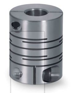 Silver Grey High Strength Aluminum Alloy Stainless Steel Coupling