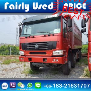 Sinotruck HOWO 8 X 4 Dump Truck 371HP pictures & photos