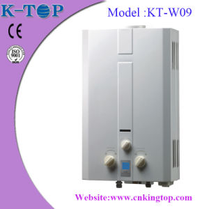 Good Quality Household Gas Geaser with Blue LCD