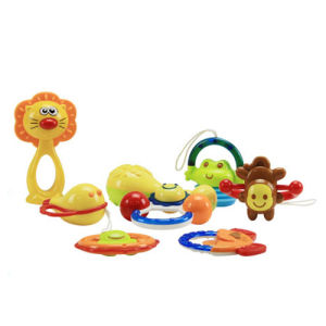 Hot Product Plastic Funny Baby Rattle (H0001175) pictures & photos