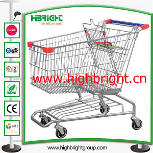 Wholesale Carrefour Style Supermarket Shopping Trolley pictures & photos