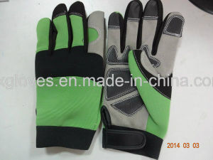 Mechanic Glove-Anti-Scartch Glove-Safety Glove-Work Glove-Anti-Vibration Glove pictures & photos
