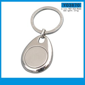 Hot Sale fashion Promotional Gift Custom Logo Metal Key Chain pictures & photos