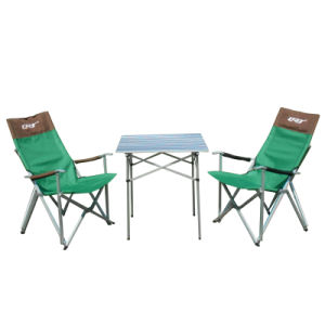 Aluminum Folding Square Table pictures & photos