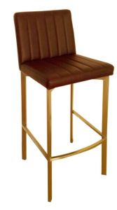 Stainless Steel Fixed Bar Stool Design pictures & photos