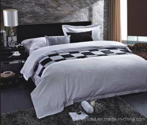 100% Cotton Jacquard Hotel Bedding Sets pictures & photos