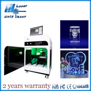 Holy Laser 3D Crystal Gift Laser Engraving Machine for Small Business Hsgp-4kb pictures & photos