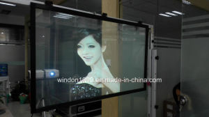 High Transparent Rear Projection Foil for Glass Advertising pictures & photos