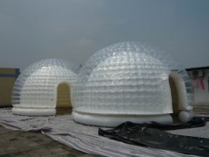 Small Outdoor Round Dome Inflatable Tent for Advertising