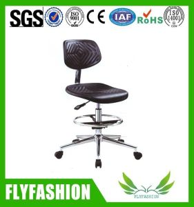 Lab PU Adjustable Chair Stools with Chrome Base pictures & photos