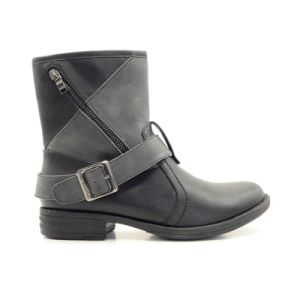 Comfortable Fashion Color Women Boots/Shoes Ankle Boots pictures & photos