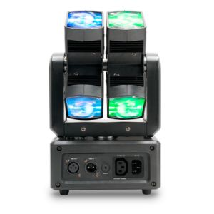Latest Dual Axis 8*10W RGBW 4in1 Disco Light with Pixel pictures & photos