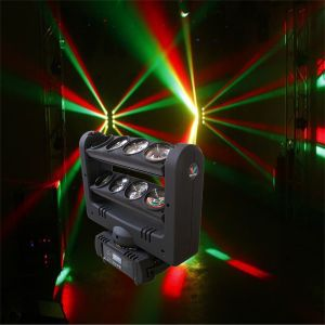 8PC 10W CREE RGBW LED Spider Beam Moving Head Light pictures & photos