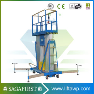 20 FT 6m Indoors Aluminum Alloy Sky Lift Man Lift Platforms pictures & photos