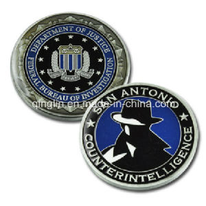 Customize Fbi of Us Souvenir Coin (QL-SMB-0004) pictures & photos