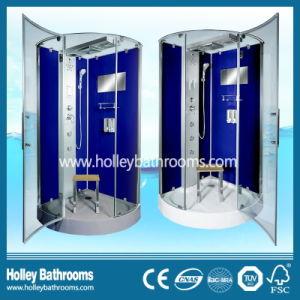 Dark Blue Color Reversible for Right or Left Door Opening Shower Cabin (SR218L)