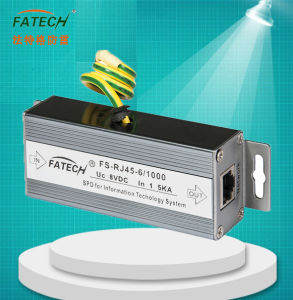 Fatech RJ45 1000M Signal Surge Arrester pictures & photos