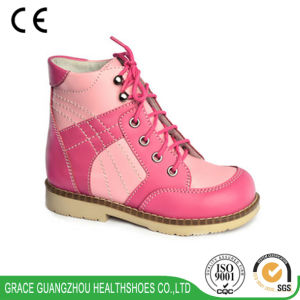 Grace Ortho Children Therapeutic Shoes for Correcting Flat Foot (4712376) pictures & photos