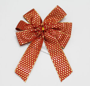 Red Christmas Bowknot Decoration Wholesale pictures & photos