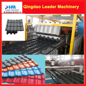 Plastic PVC+PMMA/Asa Corrugated Roofing Sheet Making Machine pictures & photos