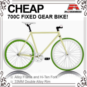 Cheap Hi-Ten 700c Track Bike (ADS-7124S) pictures & photos