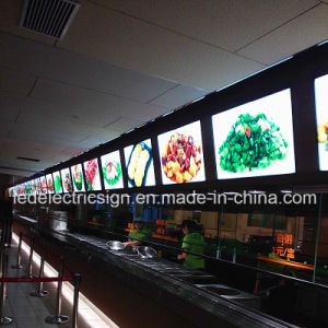 Menu Board Fast Food for Restaurant Equipment Light Box pictures & photos