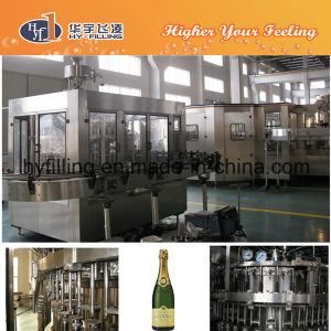 Glass Bottle Champagne Bottling Machine pictures & photos