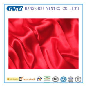 Solid Dyed 100% Pure Mulberry Silk Fabric for Bedding Dress pictures & photos