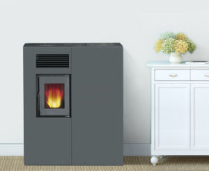 Small Cheap Indoor Using Wood Pellet Stove pictures & photos