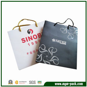 Fashion Popular Custom Rectangle Paper Gift Packing Handbag pictures & photos