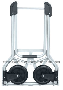 Foldable Steel Hand Trolley (HT021-1) pictures & photos