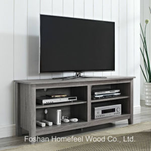 High-Grade MDF Living Room Wooden TV Stand (TVS01) pictures & photos