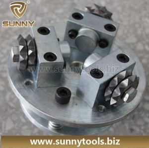 4-Head Manual Rotary Diamond Bush Hammers pictures & photos