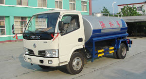Dongfeng 5 Cubic Water Sprayer Truck