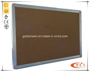 Good Model High Quality Felt Pin Board Cork Board with Aluminum Frame CE, ISO, SGS Certificate Model Number Sw-11c