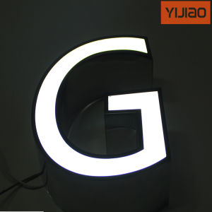 Custom Made Facelit LED Acrylic Logo & Acrylic Sign pictures & photos