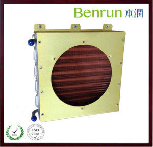 Aluminum Board Refrigeration Condenser with Copper Fin