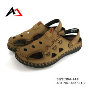 Leather Sandal Shoes Summer Beach Fashion Shoe for Men (AK1521) pictures & photos