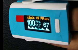 Pulse Oximeter OLED Display and Low Perfusion Performance pictures & photos