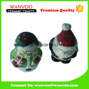 Ceramic Snowman Salt and Pepper Bottle for Kitchenware Sauce Bottle pictures & photos
