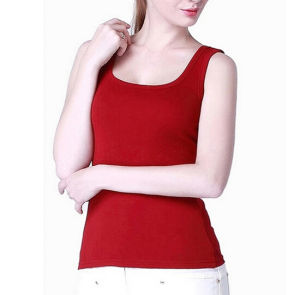 China Manufacturer Custom Wholesale Fashion Girl Cotton Vest pictures & photos