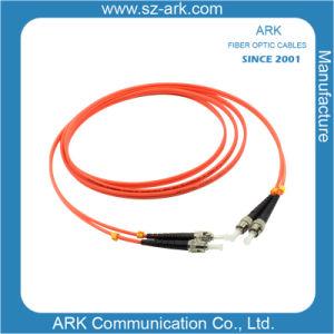 FC-St Multimode Duplex Fiber Optic Cable/Patchcord pictures & photos