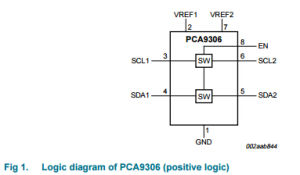 Integrated Circuit Voltage-Level Translator IC PCA9306DC pictures & photos