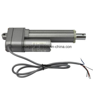 24V Linear Actuator IP65 150mm Stroke 12/24V DC Motor, Tubular Mini Electric Linear Actuator pictures & photos